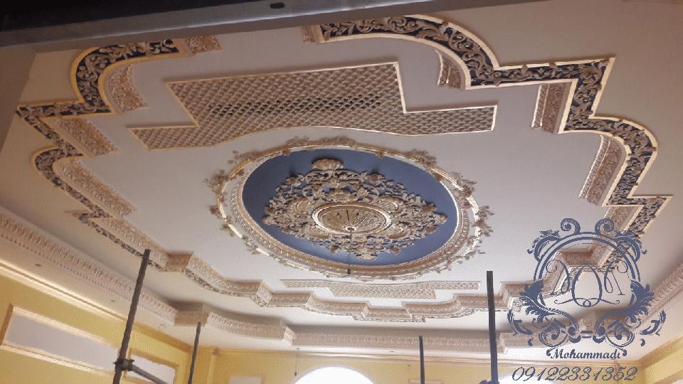 نقاشی روی سقف